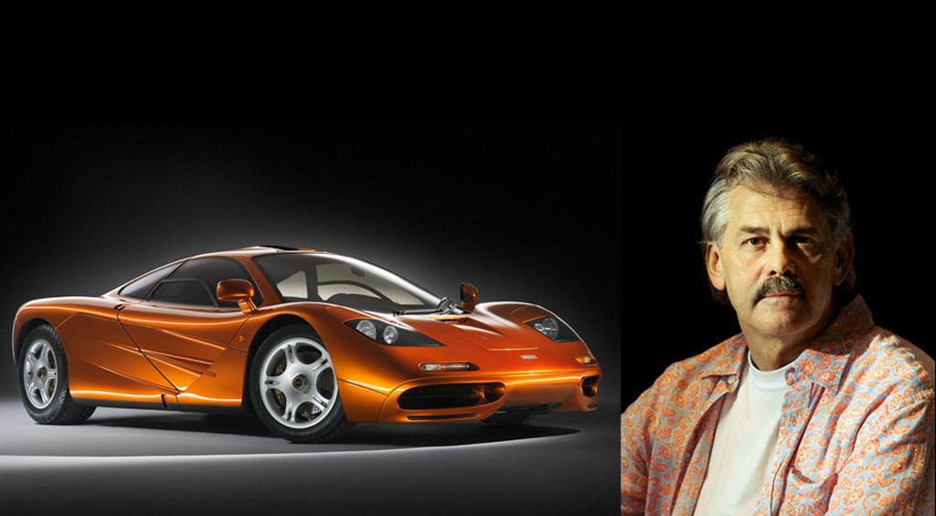 Go on a virtual tour of Gordon Murray's past 50 years of car design