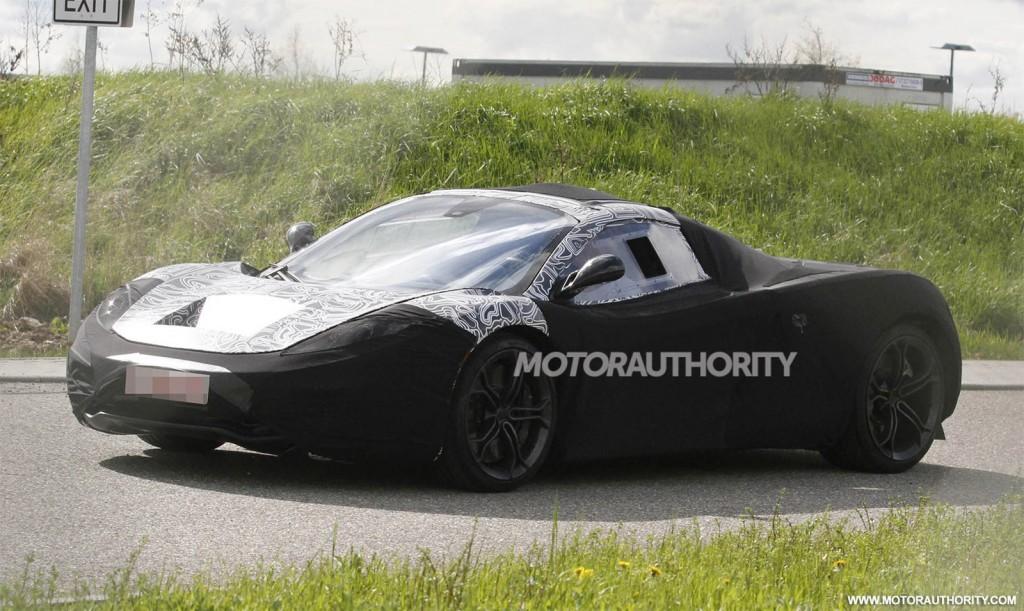 McLaren F1 Successor (P12) spy shots