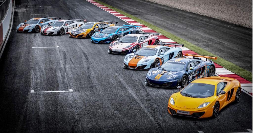 Fleet Of Nine Mclaren To Tackle Spa Hours