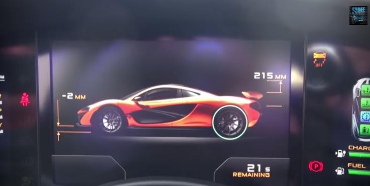 The Robotic Symphony Of The McLaren P1 Entering Race Mode: Video