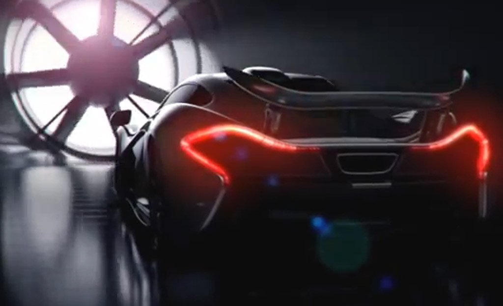 McLaren Teases P1 Supercar Interactive Experience: Video