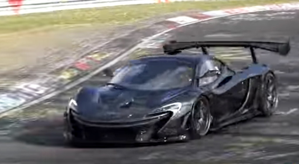 go behind the scenes of the mclaren p1 lm's record-setting