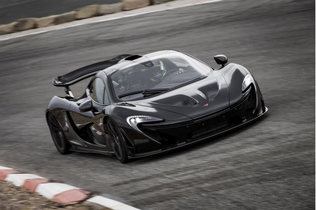 McLaren P1 prototype hot-weather testing