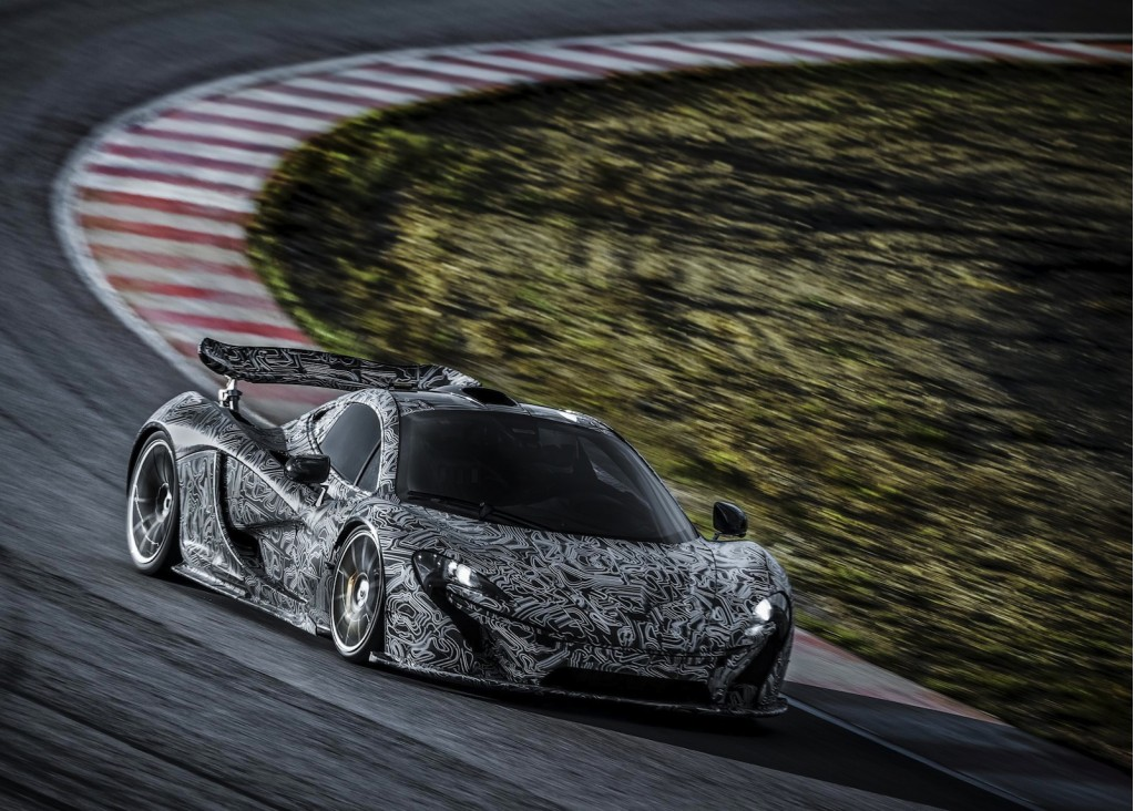 McLaren tests its P1 supercar - image: McLaren