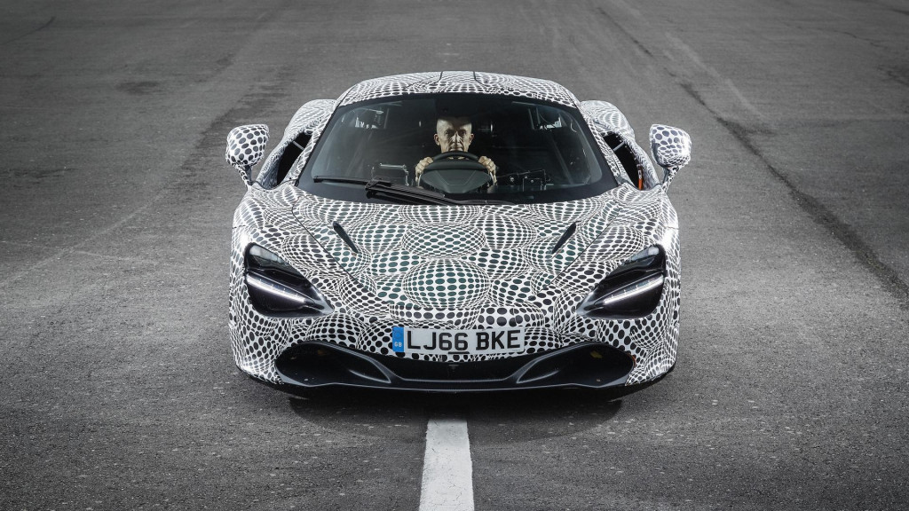 McLaren BP23 development mule