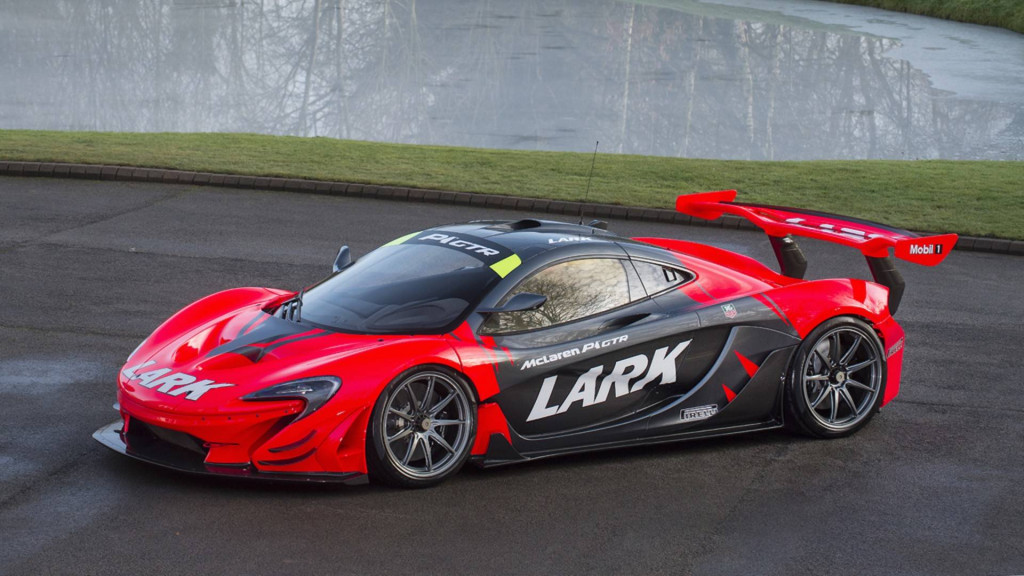 There's a street-legal McLaren P1 GTR for sale