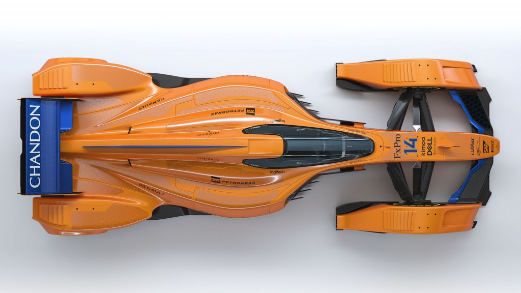 McLaren X2 a vision of the future of racing