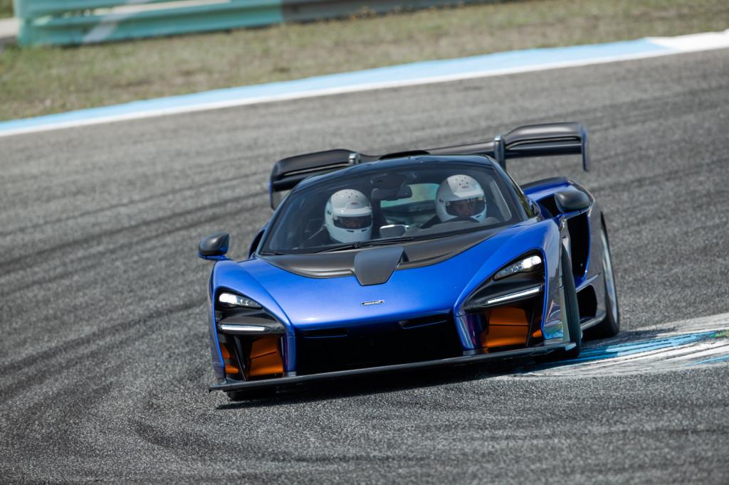 2019 McLaren Senna, Portugal Media Drive, June 2018