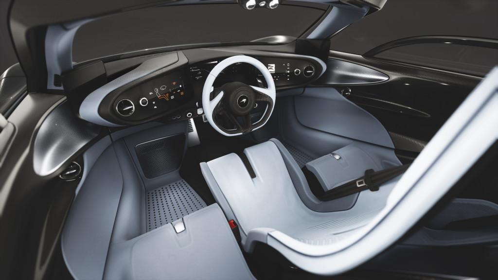 McLaren Speedtail design theme