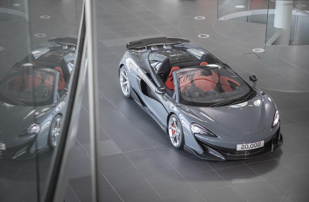 McLaren celebrates 20,000th car built