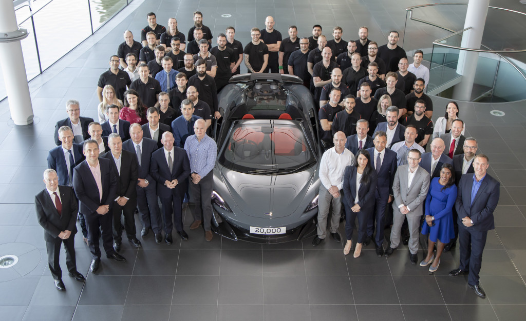 20,000th McLaren built: 600LT Spider