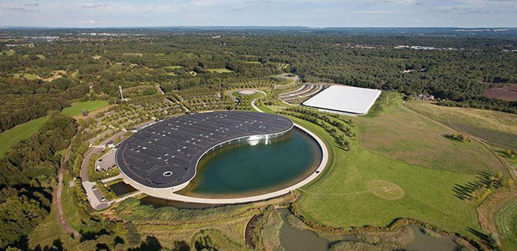 McLaren's headquarters in Woking, United Kingdom