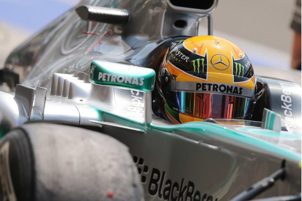 Mercedes AMG at the 2013 Formula Hungarian Grand Prix