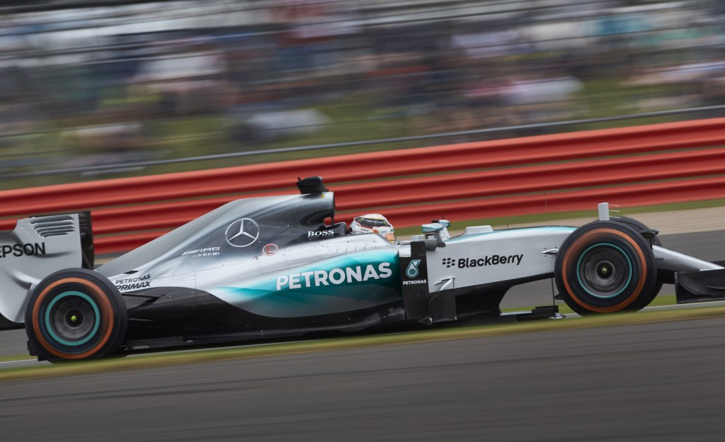 Mercedes AMG at the 2015 Formula One British Grand Prix