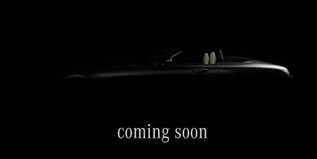 Mercedes-AMG GT Roadster teased