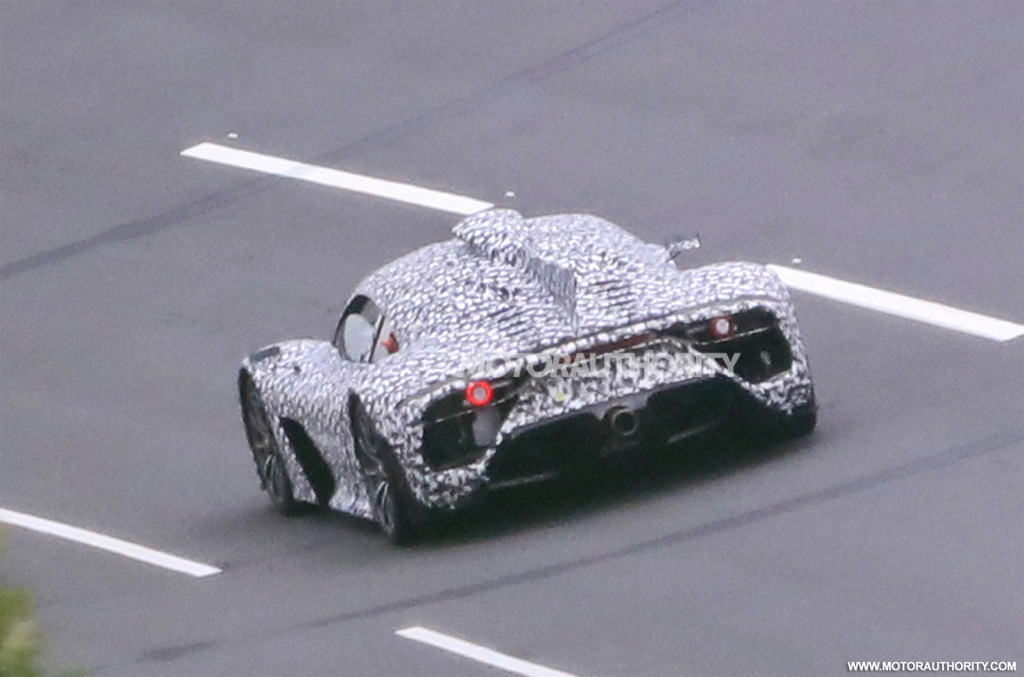Mercedes-AMG One spy shots - Photo credit: S. Baldauf/SB-Medien