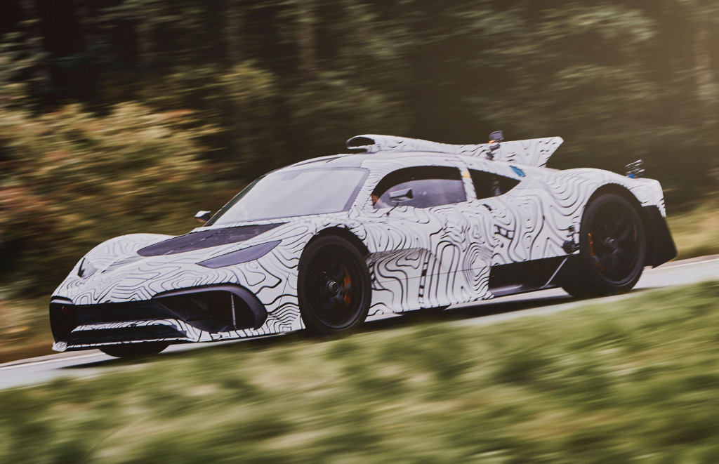 Here's what the Mercedes-AMG One hypercar sounds like