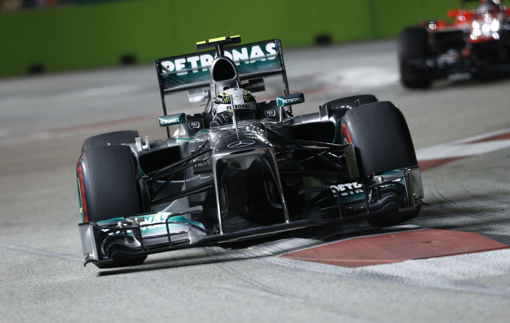 Mercedes Amg Petronas F1 Explains Different Types Of Carbon Fiber Video