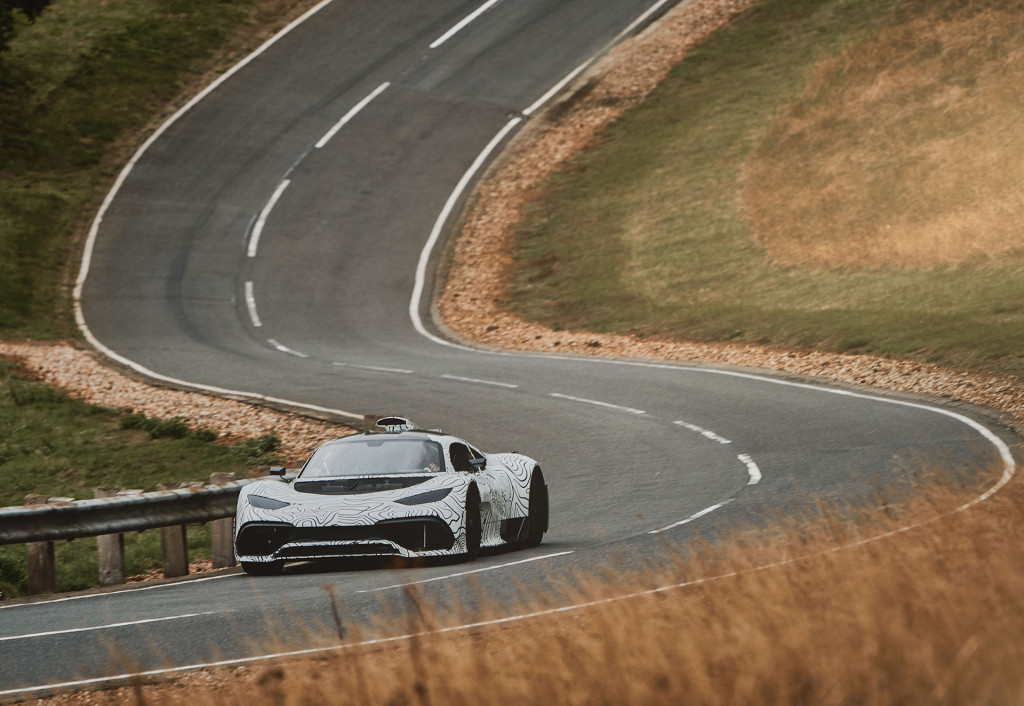 Keep your eyes peeled: Mercedes-AMG Project One prototypes hit the road