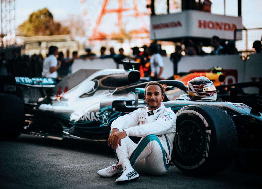 Mercedes-AMG's Lewis Hamilton at the 2018 Formula 1 Japanese Grand Prix
