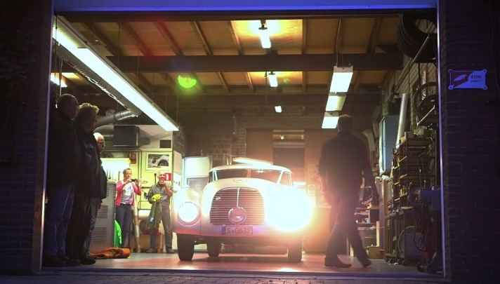 Mercedes Restored A 540K Streamliner And Made A Movie About It