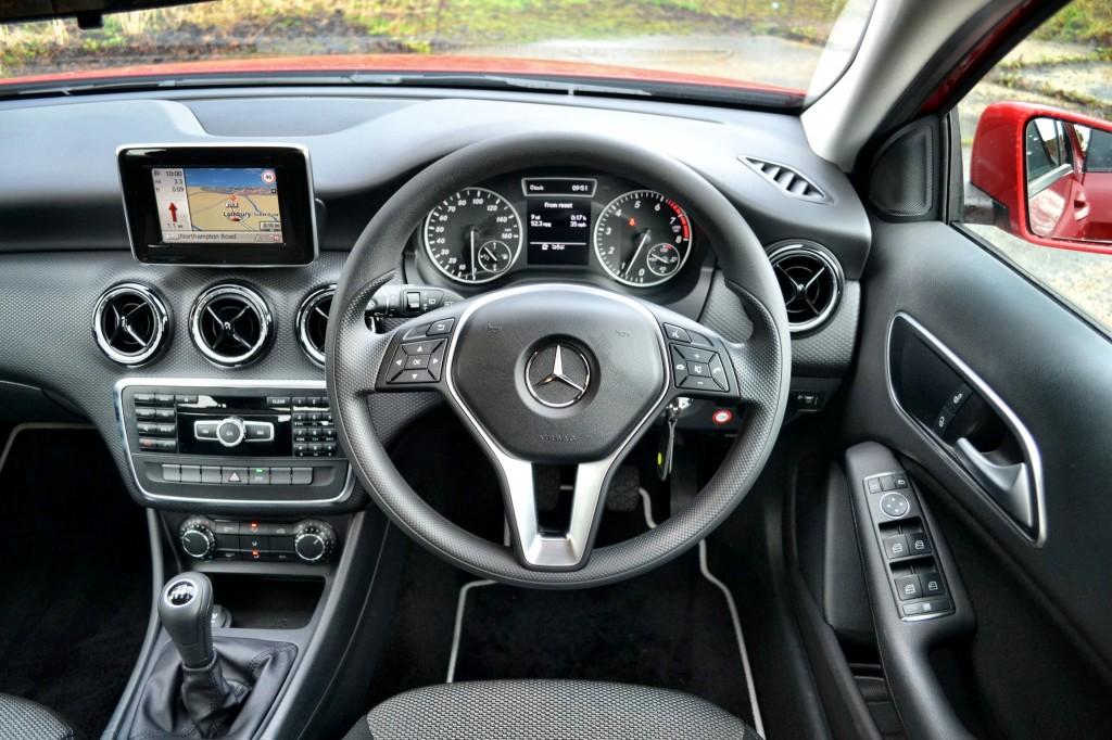 Mercedes-Benz A Class A180 quick drive