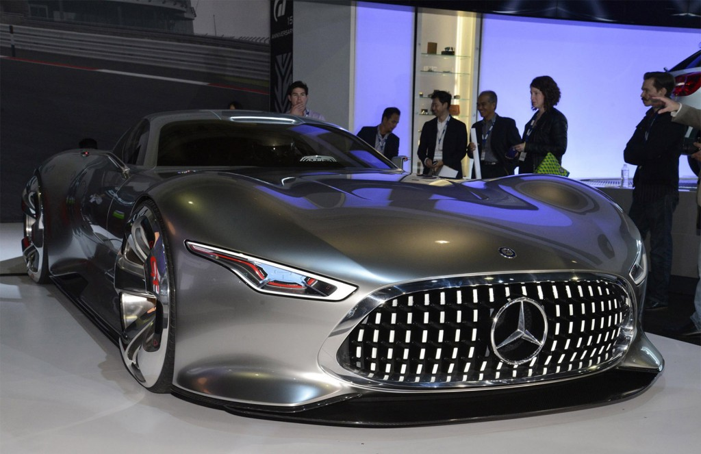 MercedesBenz AMG Vision Gran Turismo LA Auto Show Video - Mercedes benz car show