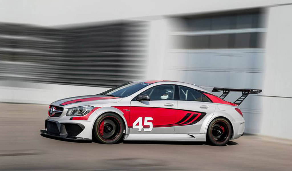Image mercedes benz cla45 amg racing series 2013 - Mercedes car show ...