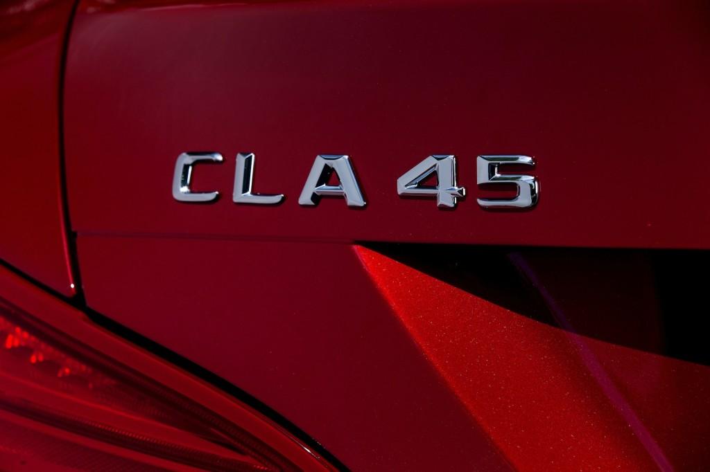 2014 Mercedes-Benz CLA 45 AMG, First Drive, Bilster Berg