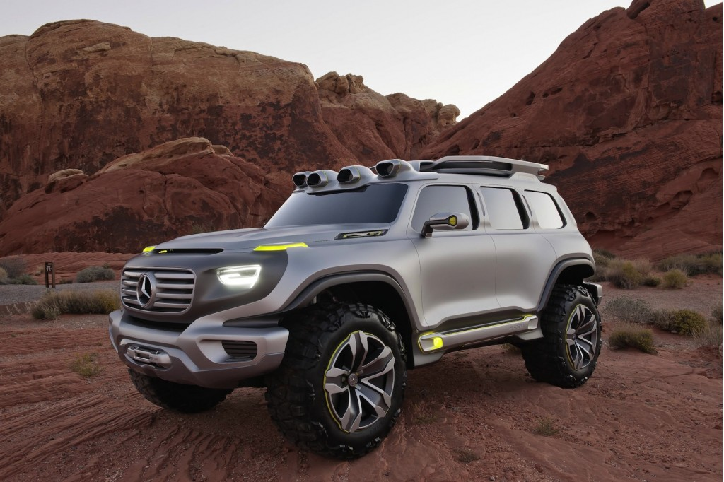 Mercedes-Benz Ener-G-Force off-road concept