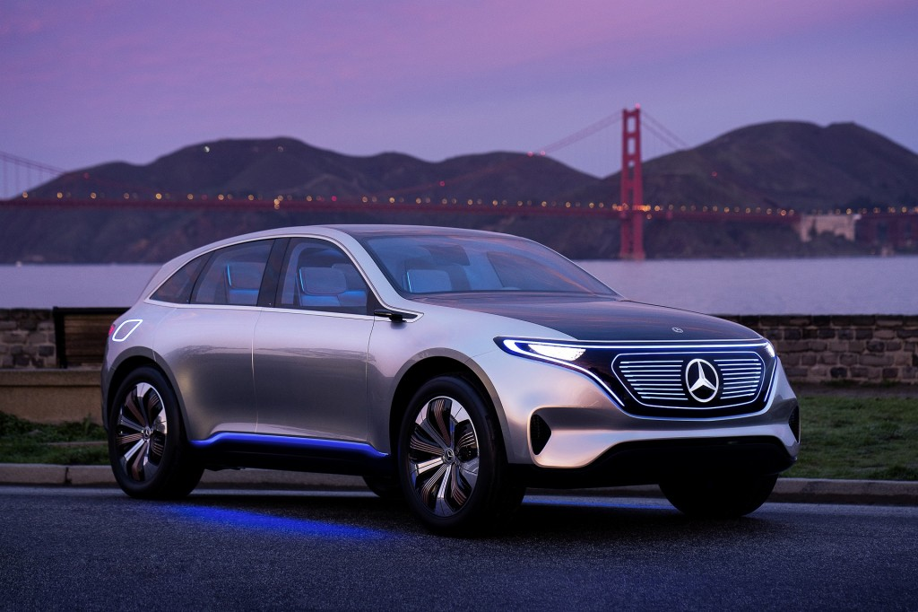 Mercedes-Benz EQ electric car concept  [photo: Axel Harries]