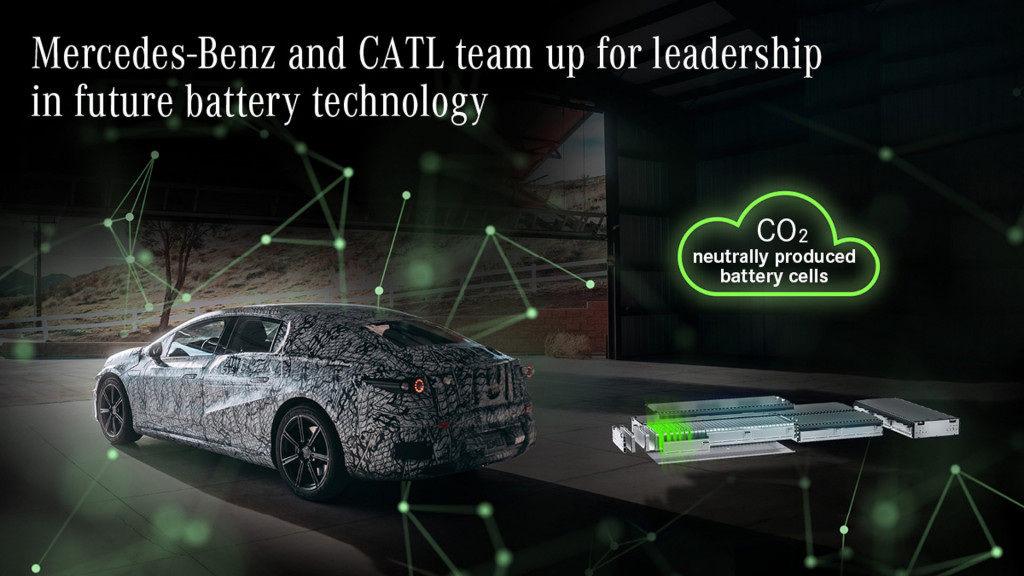 Mercedes-Benz EQS will use batteries sourced from CATL