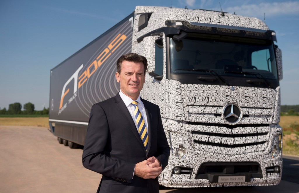 Mercedes-Benz Future Truck 2025 autonomous vehicle