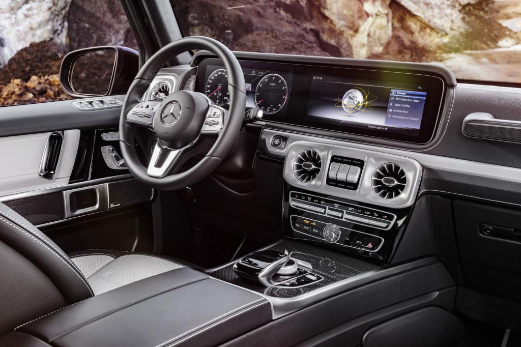 2019 Mercedes-Benz G-Class leaked