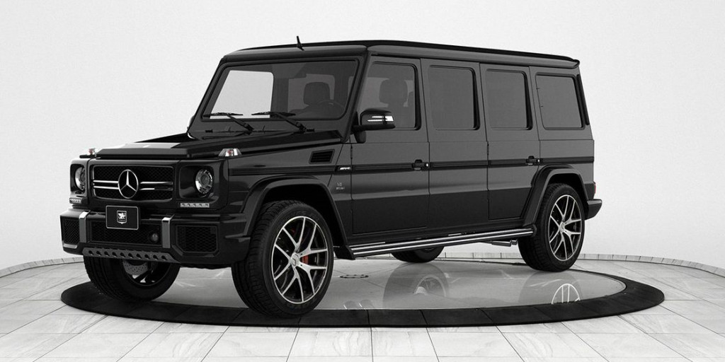 $1.2 million bulletproof Mercedes G63 limo could save your life