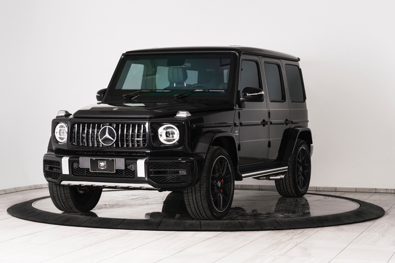 2019 Mercedes-Benz G63 AMG armored SUV by Inkas