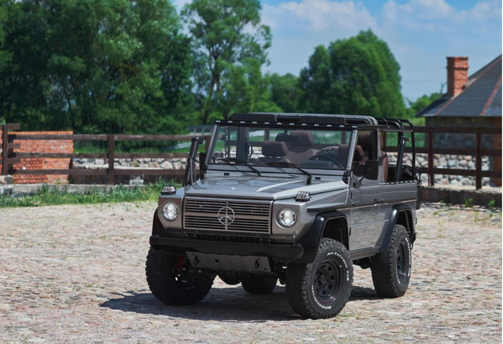 New Jersey company is restoring old G-Wagens with meticulous detail
