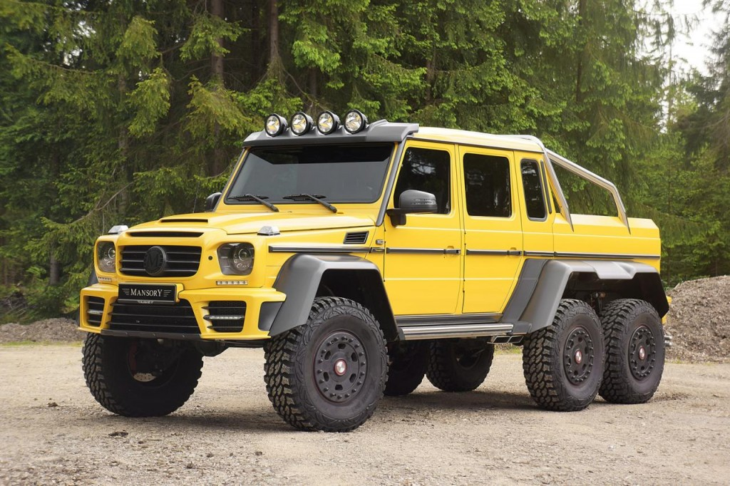 Hell S School Bus Mansory S Mercedes Benz Amg