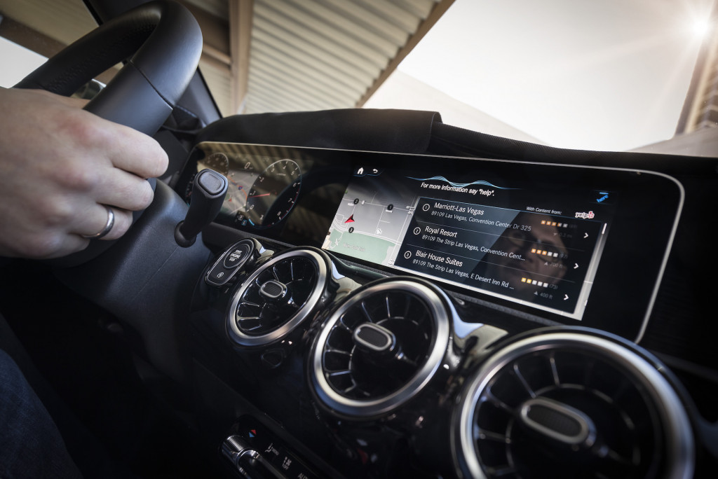 Mercedes' new MBUX infotainment system is like Google Assistant for your car