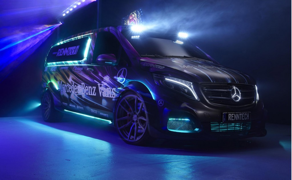 Mercedes-Benz Metris Party/DJ Van by RENNtech, 2014 SEMA show