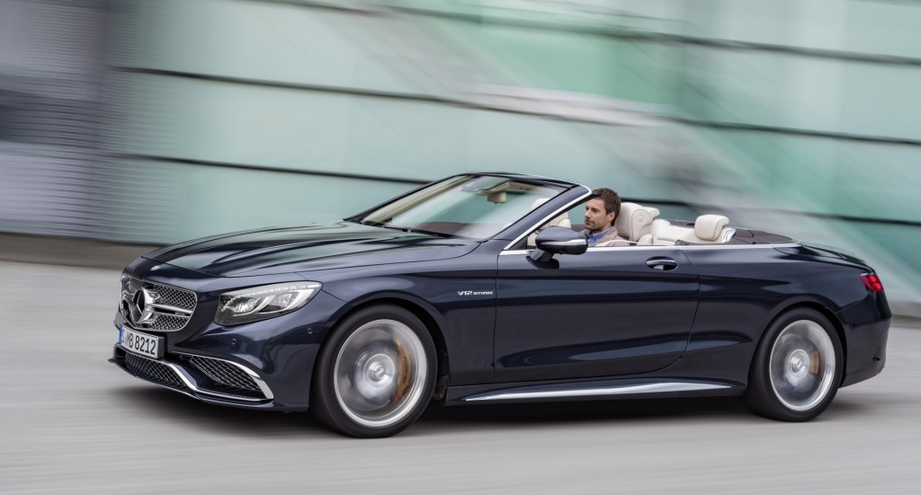 2017 Mercedes-AMG S65 Cabriolet: 621-HP V-12 Drop-Top