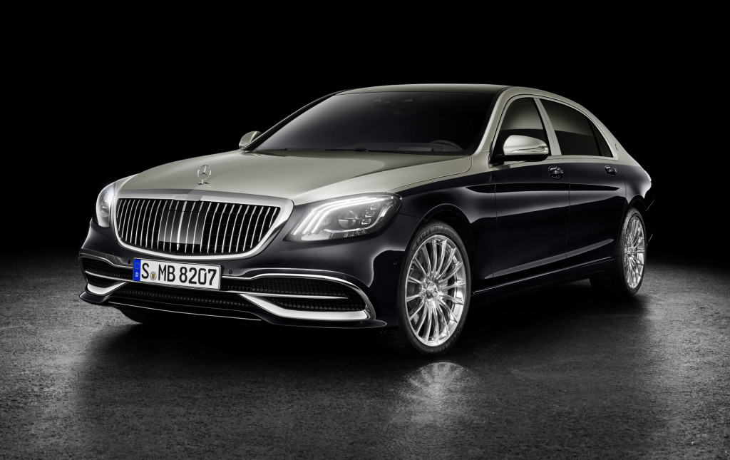 2019 Mercedes-Maybach S-Class made swankier with custom grille, 2-tone paint