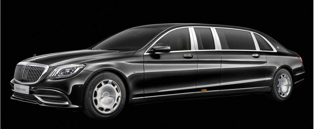 Mercedes-Maybach dials up the swank, power on S-Class Pullman