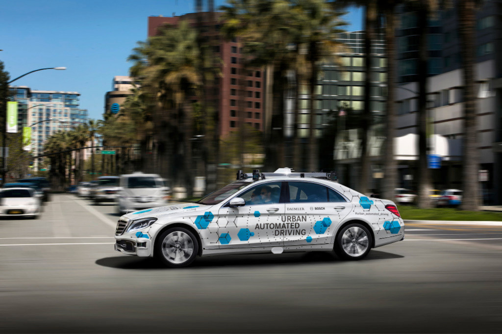 Mercedes-Benz, Bosch to test self-driving cars in California