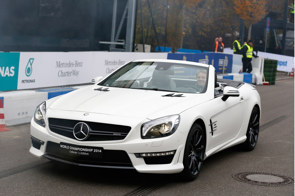 Mercedes-Benz SL63 AMG World Championship 2014 Collector's Edition