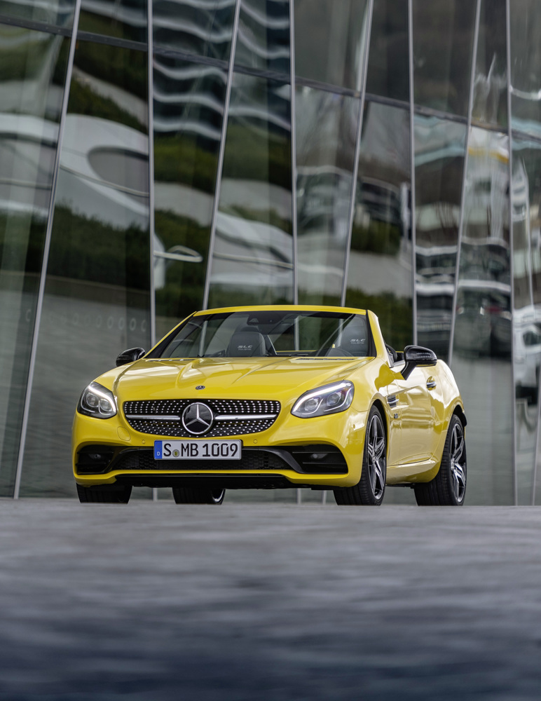 Mercedes-Benz SLC roadster reaches end of the road