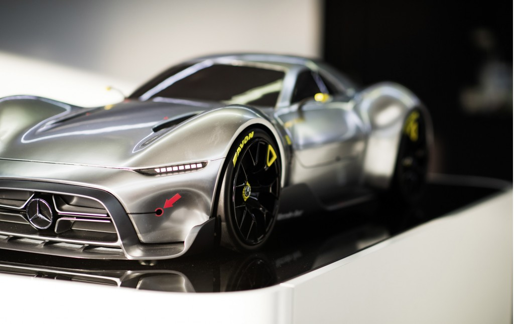 might this mercedes sports car design study preview amg s project