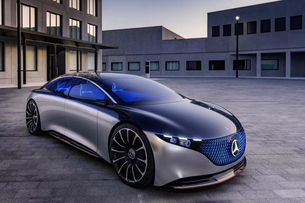 Mercedes-Benz Vision EQS rethinks the S-Class as all-electric