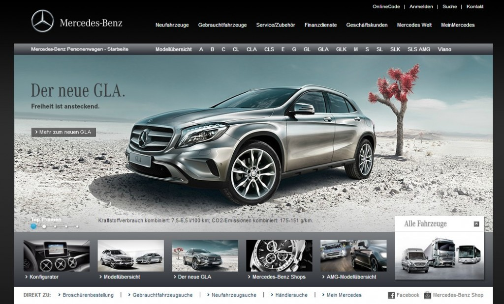 Mercedes benz follows the lead of tesla gm moving sales for Mercedes benz official site