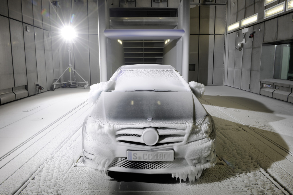 Used Vw Golf >> Mercedes-Benz' Wind Tunnel Provides Weather On Demand